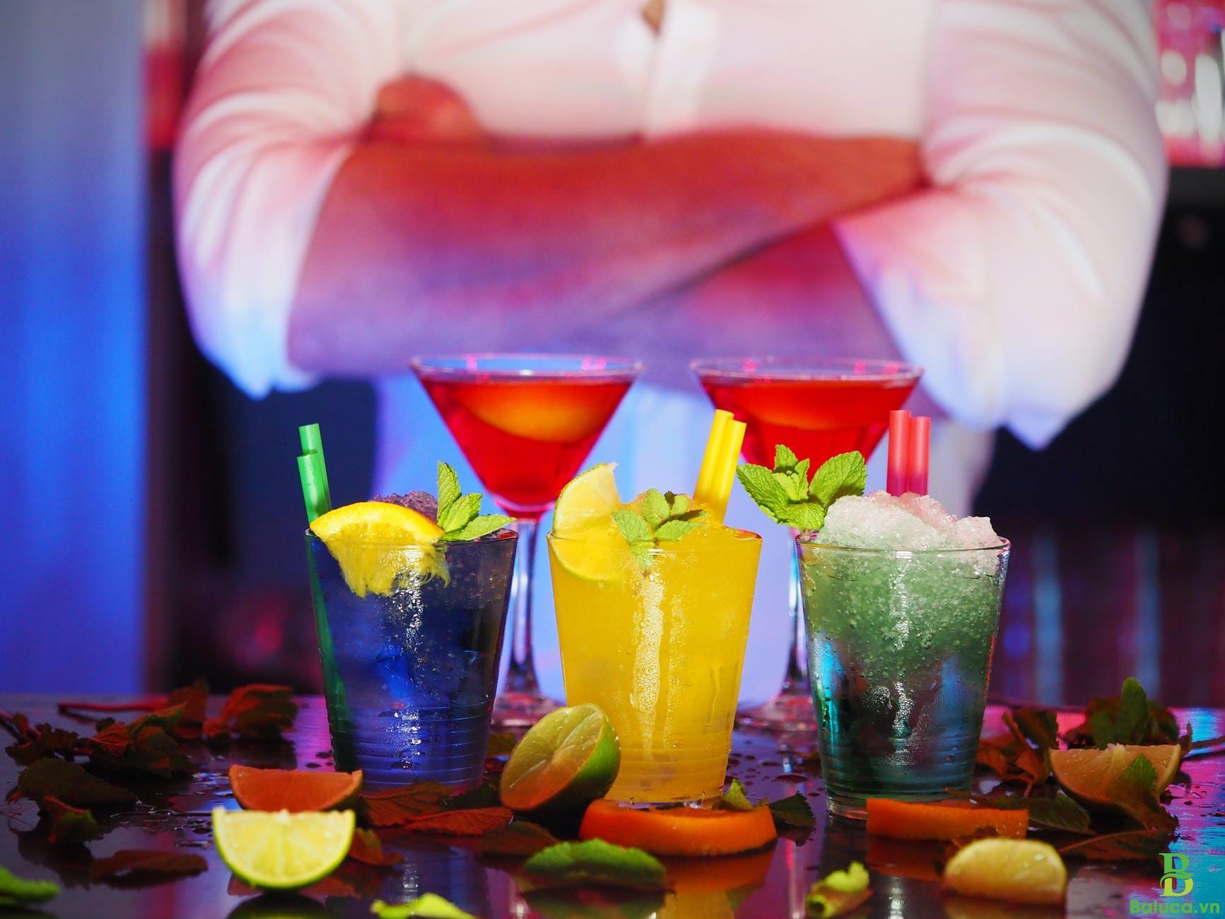 Học pha chế đồ uống mùa hè