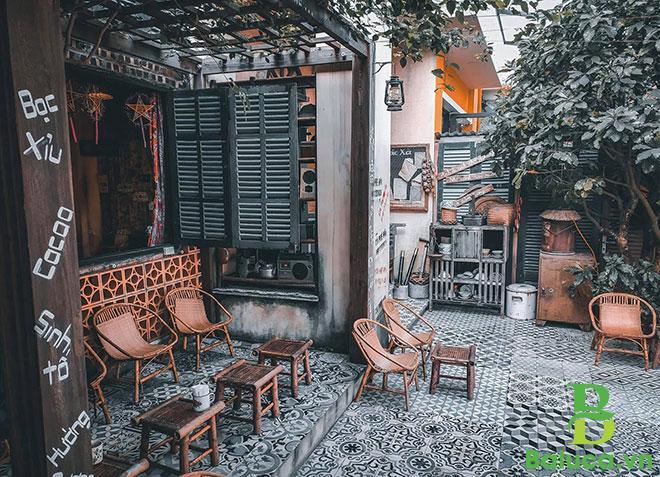 Thiết kế quán cafe cổ điển