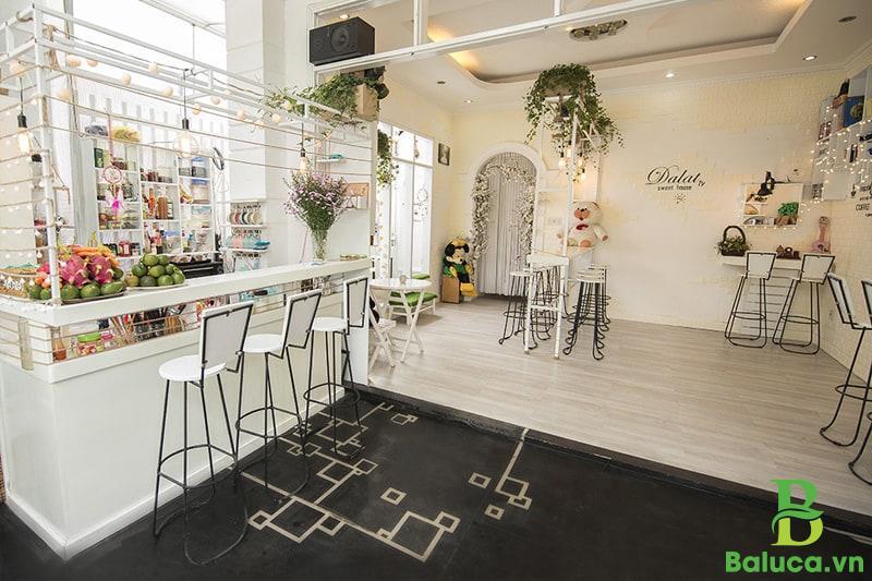 phong cách thiết kế quán trà sữa