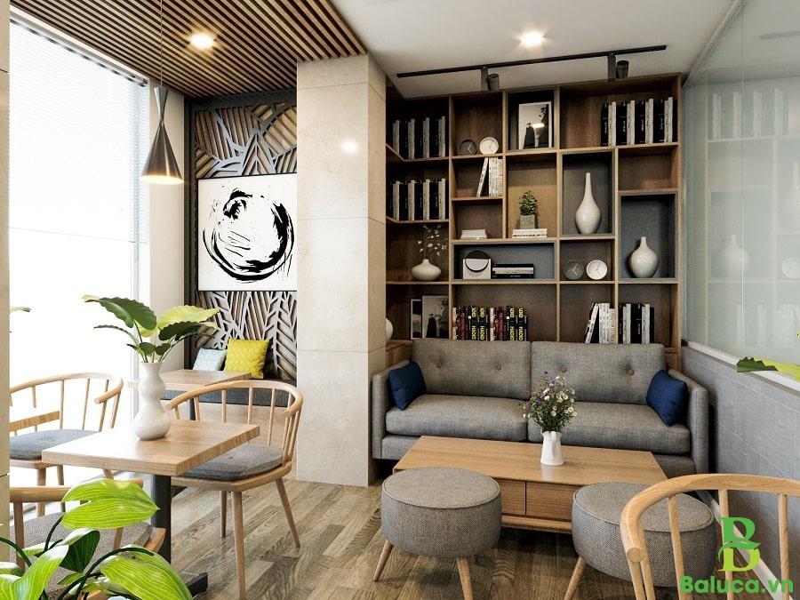 setup quán trà sữa cafe