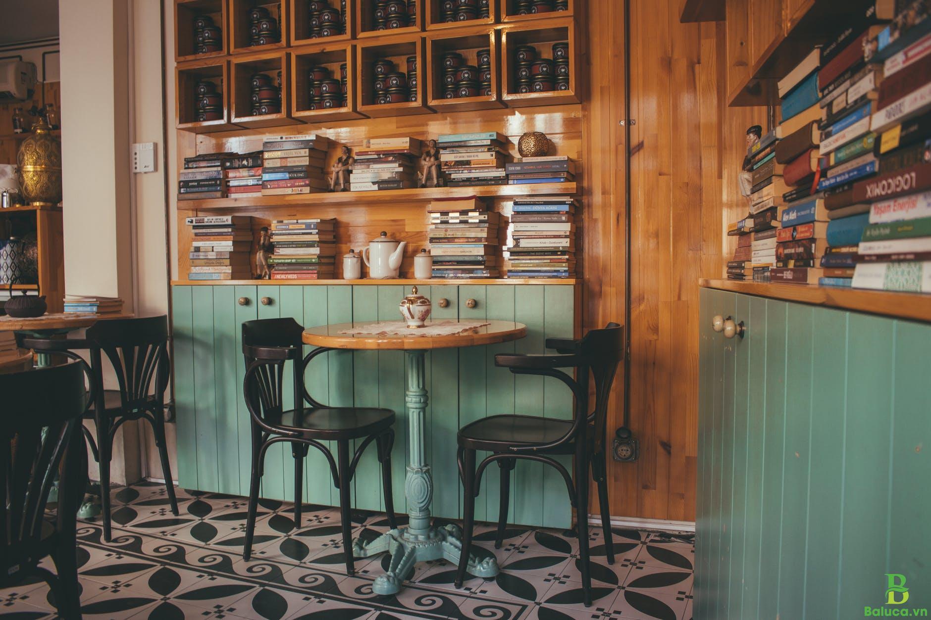 thiết kế quán cafe nhỏ đẹp giá rẻ