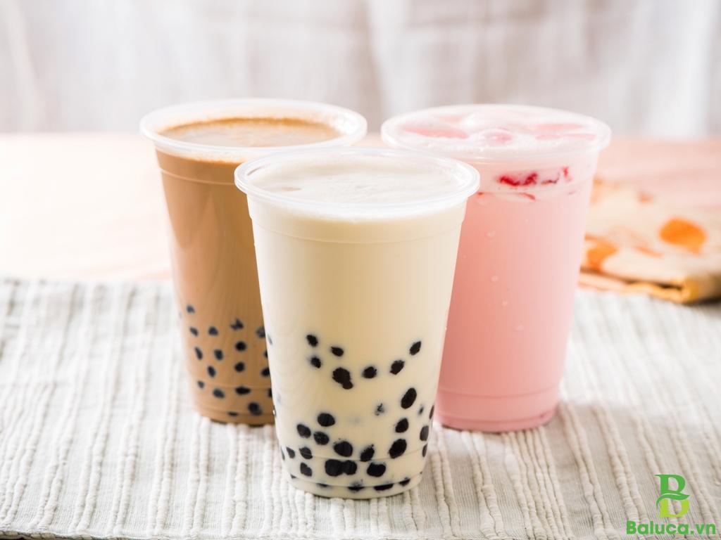 thiết kế quán trà sữa lề đường