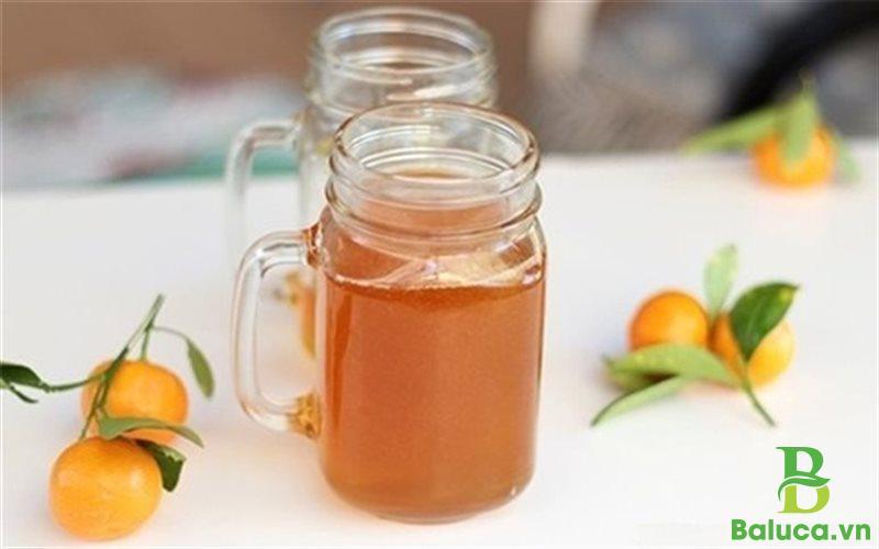 Cách pha trà quất mật ong