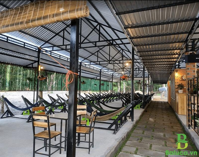 Thiết kế quán cafe võng